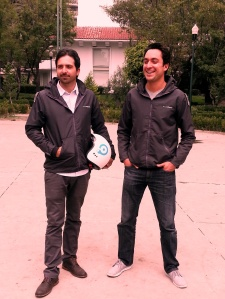 Eduardo Porta and Alejandro Morales, co-founders at Econduce
