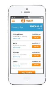 Regalii's app helps families pay bills and manage finances